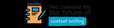 Web Calendar Pro – The future of content writing